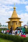 Şapel Sarov, kutsal Trinity söyle, büyük melek-Diveevo Manastırı, Rusya St. Seraphim onuruna — Stok fotoğraf