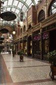 Leeds arcades — Stock Photo