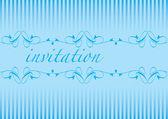 Invitation cards — Stock Vector