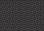 Seamless Black Repeated Pattern Wallpaper — Vecteur