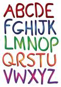 Vector illustrate alphabet — Stock Vector