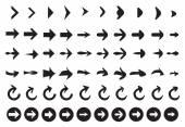 Arrow Icon Set — Stock Vector