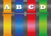 Paper infographic banners — Vecteur