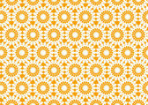 Vector illustration of flora repeated pattern — Stock Vector