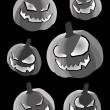 calabazas de halloween — Vector de stock  #62049683
