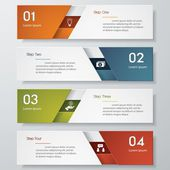 Ren antal banners designmall. Vektor. — Stockvektor