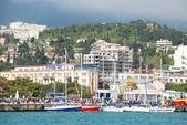 View of the city Yalta — Stock Photo