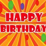 Happy birthday background — Stock Vector #54885249