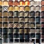 Tie rack — Stock Photo #65451361