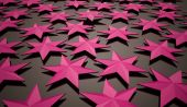 Abstract pink stars — Stock Photo