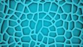 Blue abstract mesh concept — Stock Photo