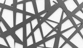 Black and white chaos mesh  — ストック写真