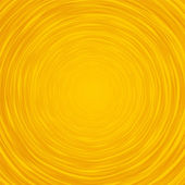 Abstract yellow background composition of thin irregular circle — Stock Vector