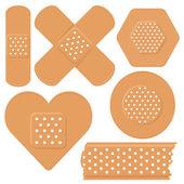 Adhesive plaster — Cтоковый вектор