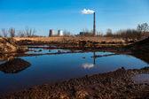Cogeneration plant in Kyiv, Ukraine — Stock Photo