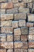 Stack of coquina bricks — Stockfoto