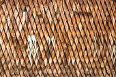Wooden shingle surface — Stock Photo