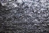 The surface of the black coal — Stock Photo