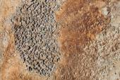 Concrete surface with rust — Stock Photo
