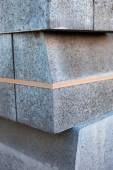Pila di blocchi di cemento — Foto Stock