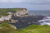 Cliffs at Flamborough Head overlooking the Sea — Stock Photo