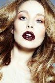 Dark Lipstick — Stockfoto