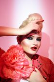 La Mode En Rose — Stock Photo