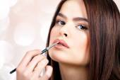 Woman With Make-Up — Stock Photo