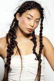 Asian Model — Stock Photo