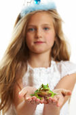 Ten Year Old Girl — Stock Photo