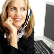 Customer Support Worker — Stock Photo #64180077