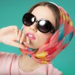 Sixties Style Girl — Stock Photo #67485883