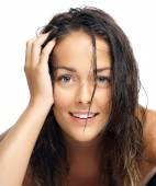 Woman With Wet Hair — Stock Photo