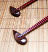 Japanese chopsticks — Stock Photo