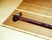 Japon yemek çubukları — Stok fotoğraf