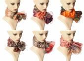 Fashion Scarves — Stock Photo