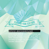 White-blue polygonal background — Stockvektor