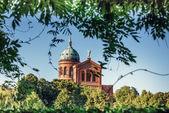 Historic church Michaelkirche in Berlin — Stock Photo