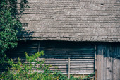 Old wooden german farm house — Stock Photo