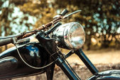 Old rusty motorcycle — Stock Photo