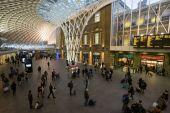 King's Cross Station in London — Stock Photo