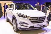2016 Hyundai Tucson Hybrid — Stockfoto