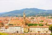 Italy Florence general views of the city — Stock Photo