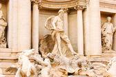 Trevi Fountain in Rome Italy — Stock Photo