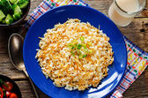 Rice with vermicelli — Stock Photo