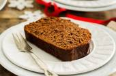 Chocolate bread with chocolate chips — Stock Photo