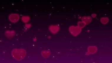 Romantic purple Background — Stock Video