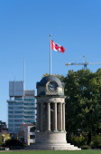 Clock Tower in Kitchener, Canada — Stock Photo