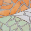 Multicolored small tiles abstract pattern background. — Stock Photo #56493275
