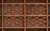 Wooden lath — Stock Photo
